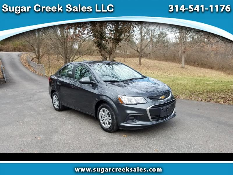 2018 Chevrolet Sonic 4 dr Sdn LS
