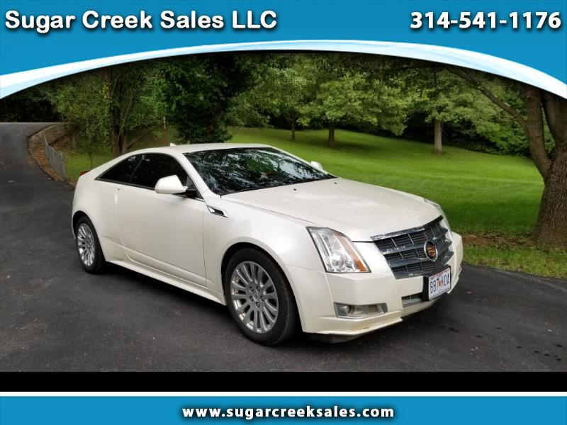 Cadillac CTS Performance Coupe AWD w/ Navigation 2011