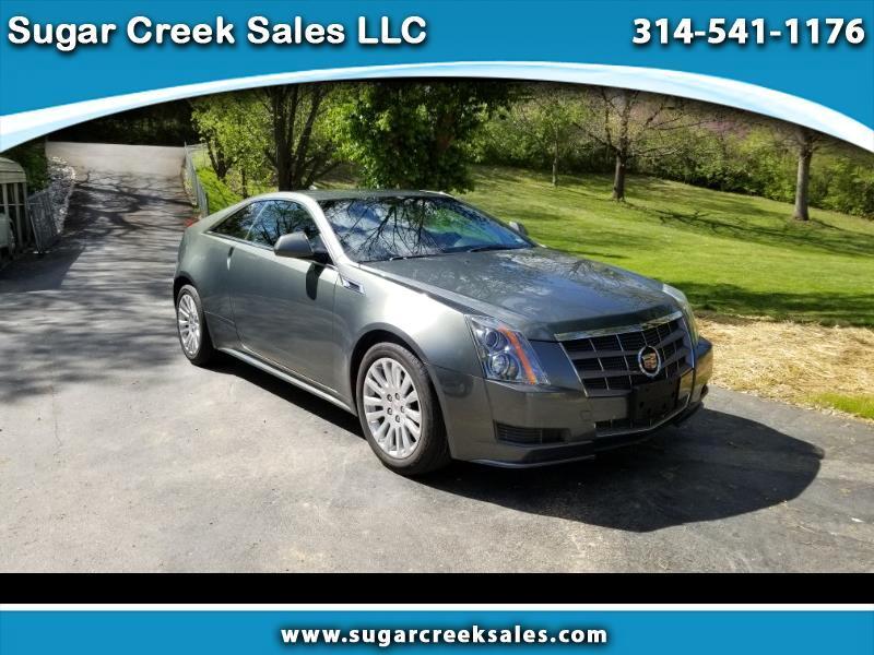 Cadillac CTS Base Coupe 2011