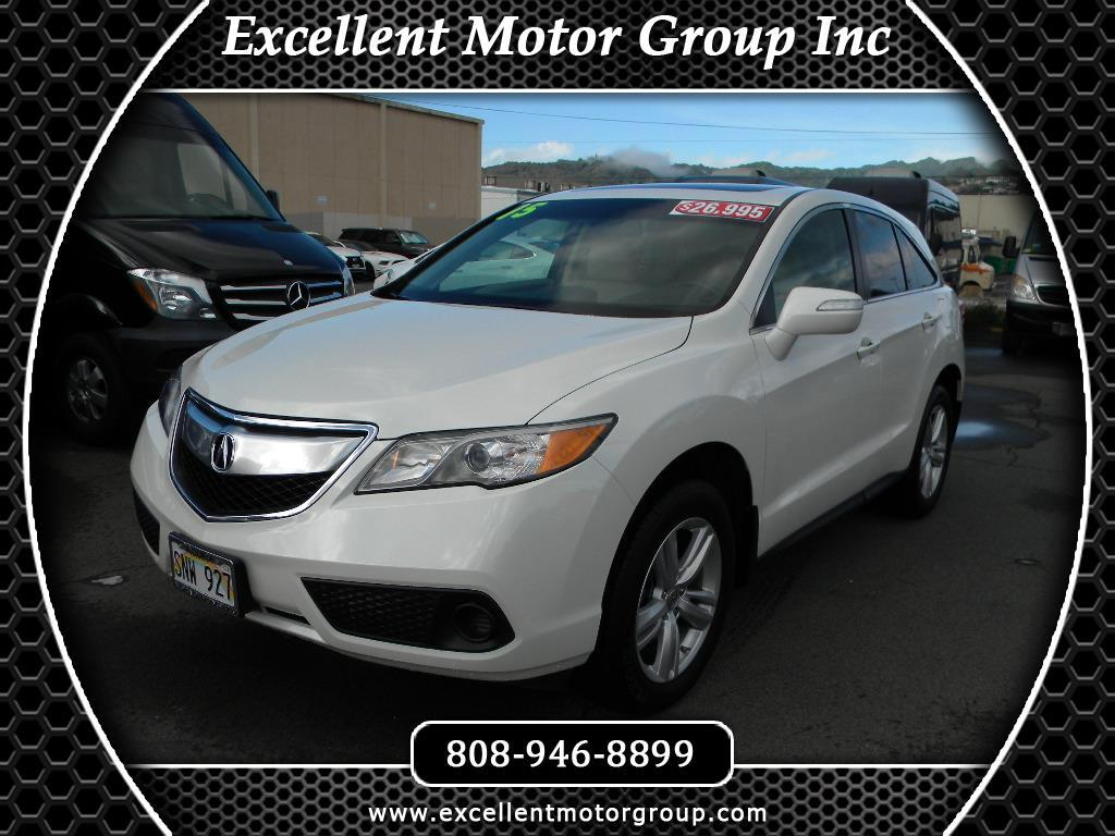 2015 Acura RDX 6-Spd AT