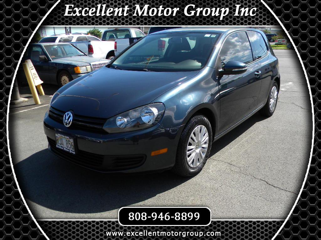 2010 Volkswagen Golf 2.5L 2-Door PZEV