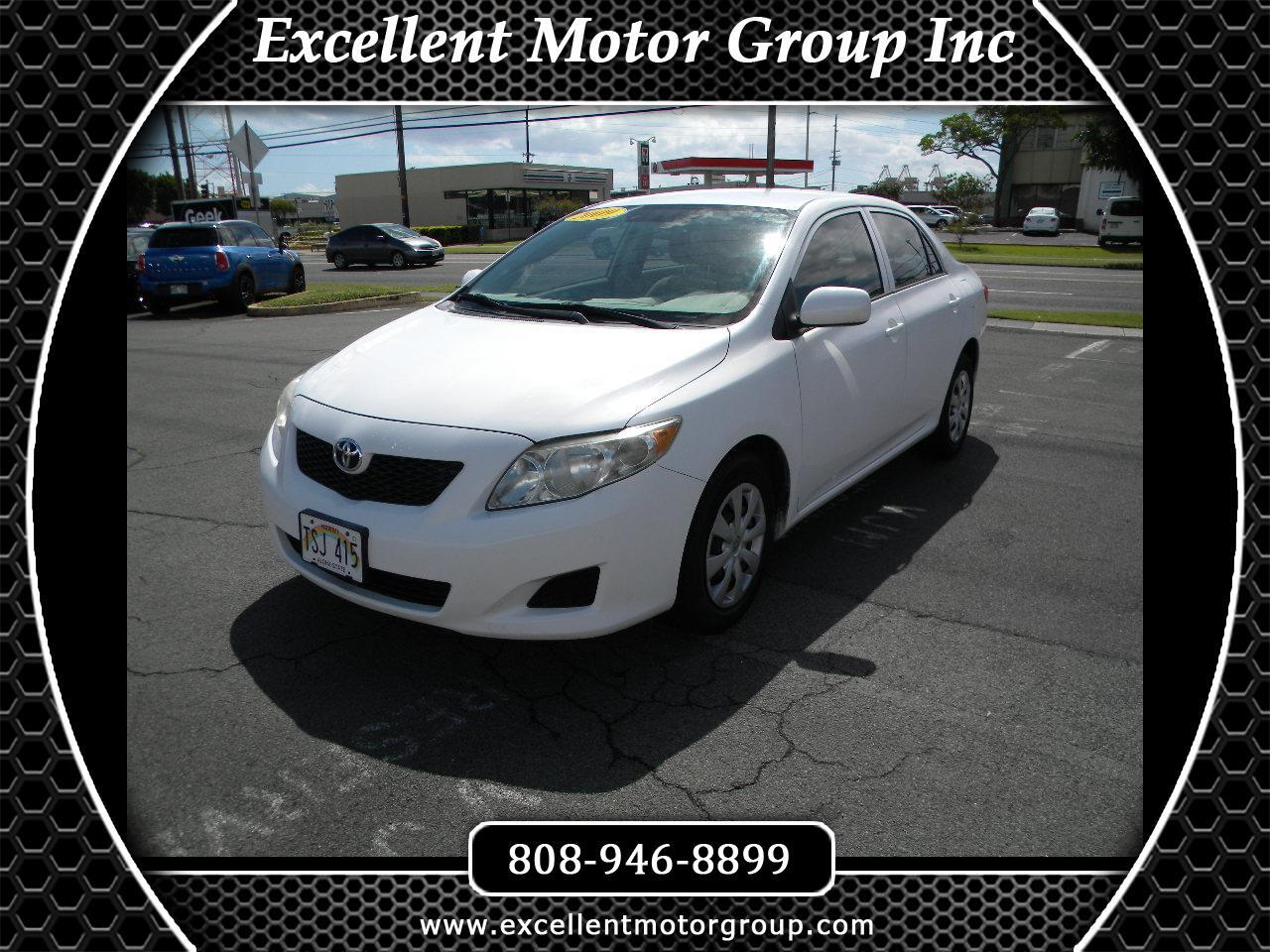 2009 Toyota Corolla LE 4-Speed AT