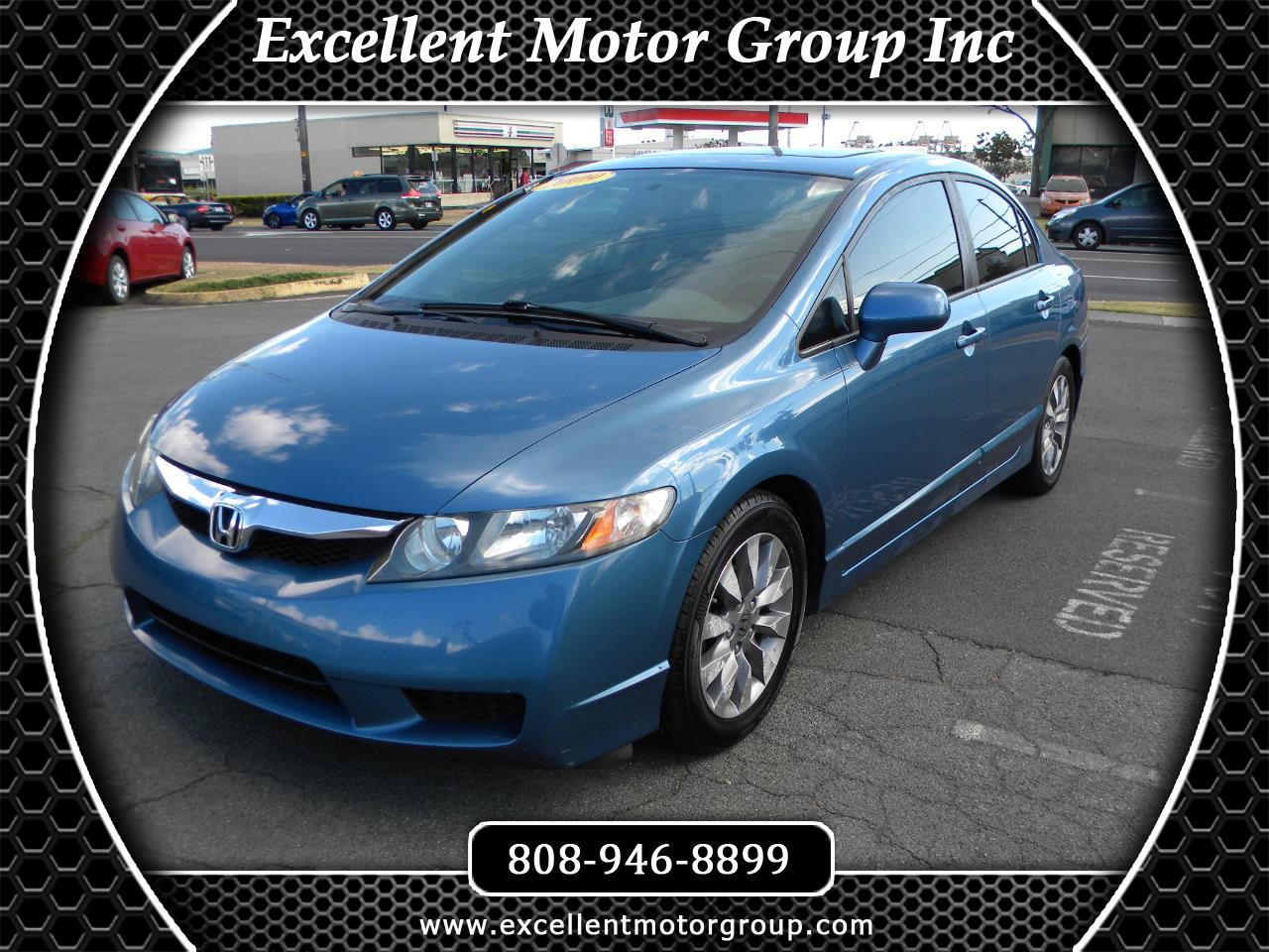 Honda Civic EX Sedan 5-Speed MT 2009