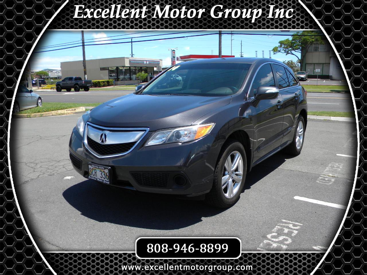 Acura RDX 6-Spd AT 2014