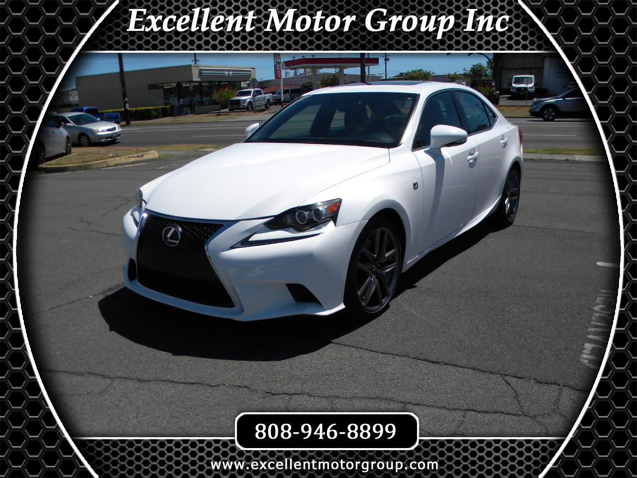 Lexus IS 350 AWD 2015
