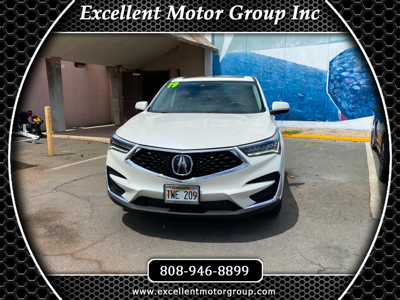 Acura RDX 5-Spd AT with Technology Package 2019