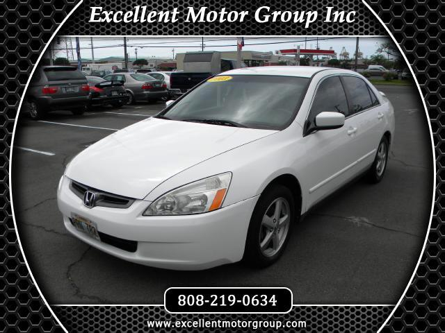 2003 Honda Accord LX Sedan AT with Front Side Airbags