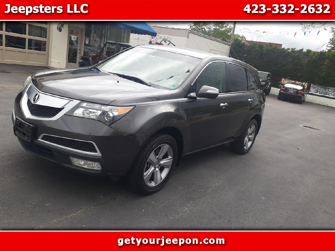Acura MDX 4dr SUV AT 2011