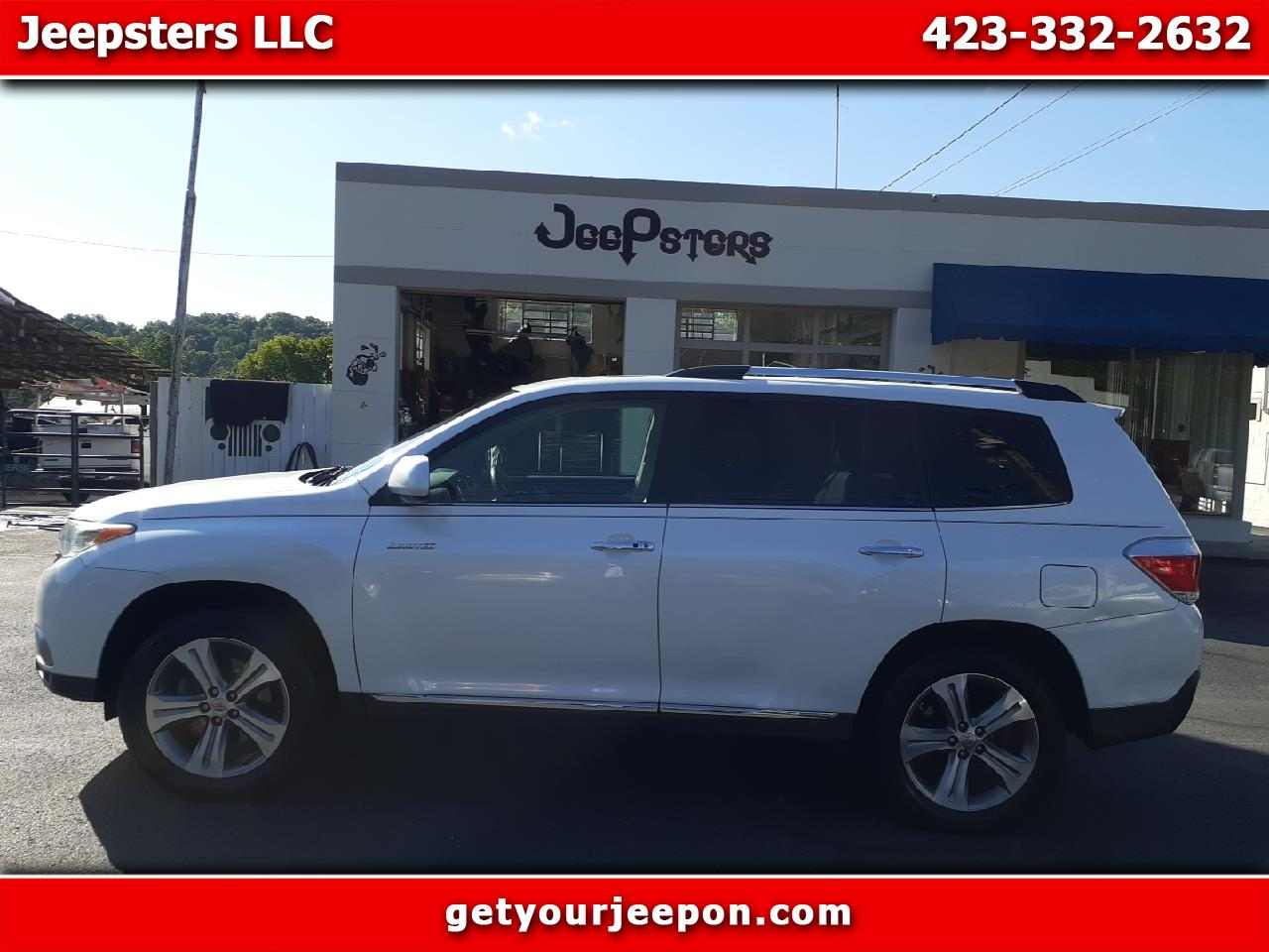 Toyota Highlander Limited 2WD 2011