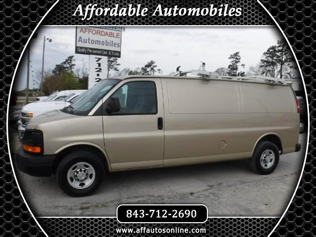 2010 Chevrolet Express 3500 Cargo Extended