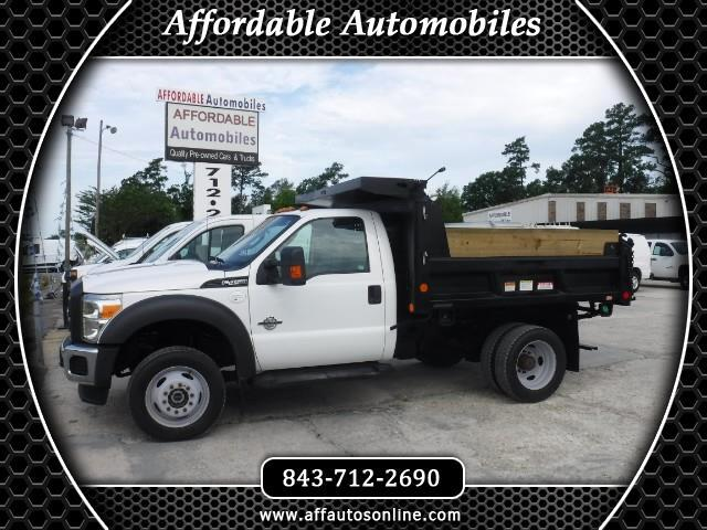 2015 Ford F-450 SD Regular Cab DRW 4WD XLT