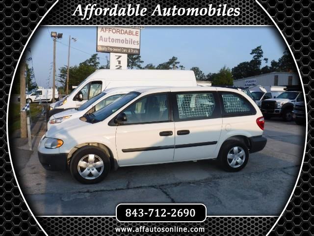 2006 Dodge Caravan Cargo Van