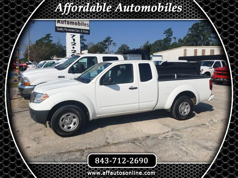 2017 Nissan Frontier S King Cab I4 5AT 2WD