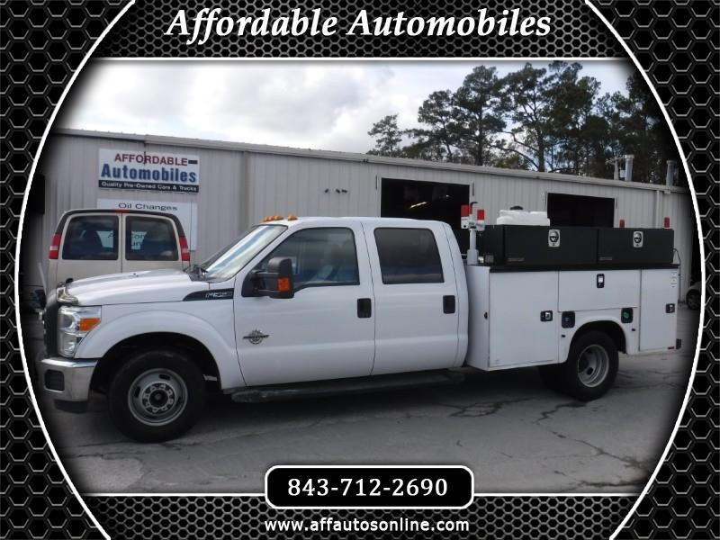 2015 Ford F-350 SD XL Crew Cab Long Bed DRW 2WD