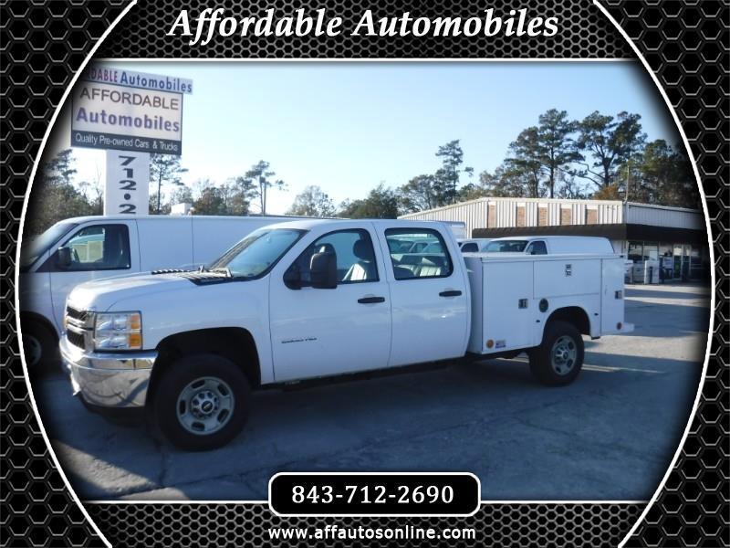 2013 Chevrolet Silverado 2500HD Work Truck Crew Cab 2WD