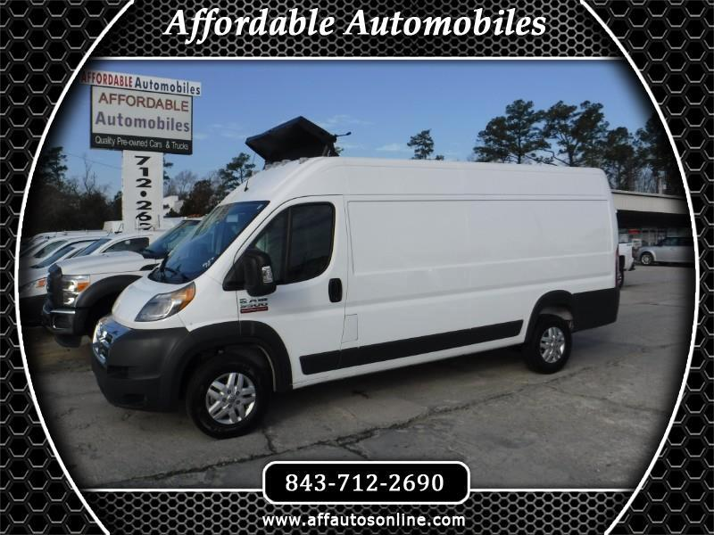 2018 RAM Promaster 3500 High Roof Tradesman 159-in. WB Ext
