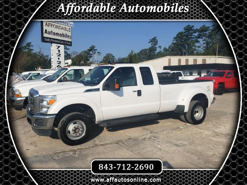 Ford F-350 SD XLT SuperCab Long Bed DRW 4WD 2016