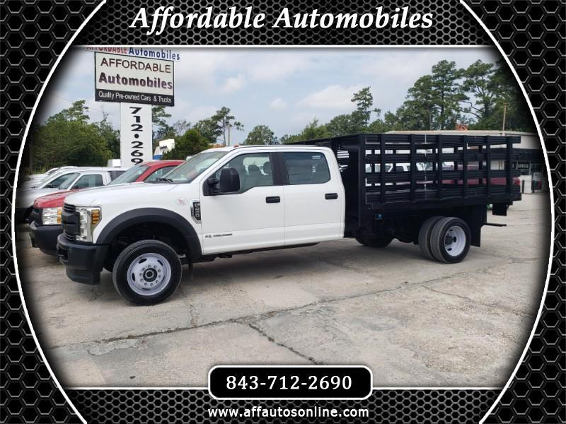 Ford F-450 SD Crew Cab  4WD DRW 2018