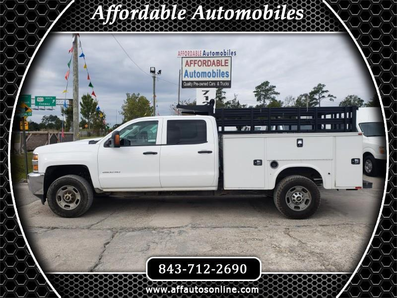 Chevrolet Silverado 2500HD Work Truck Crew Cab Long Box 4WD 2018