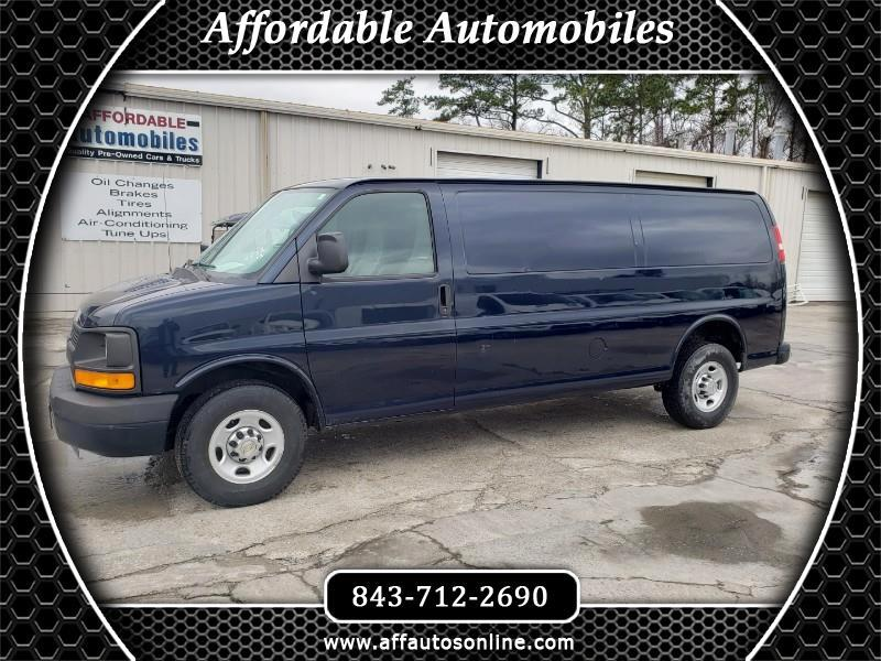 Chevrolet Express 3500 Cargo Extended 2012