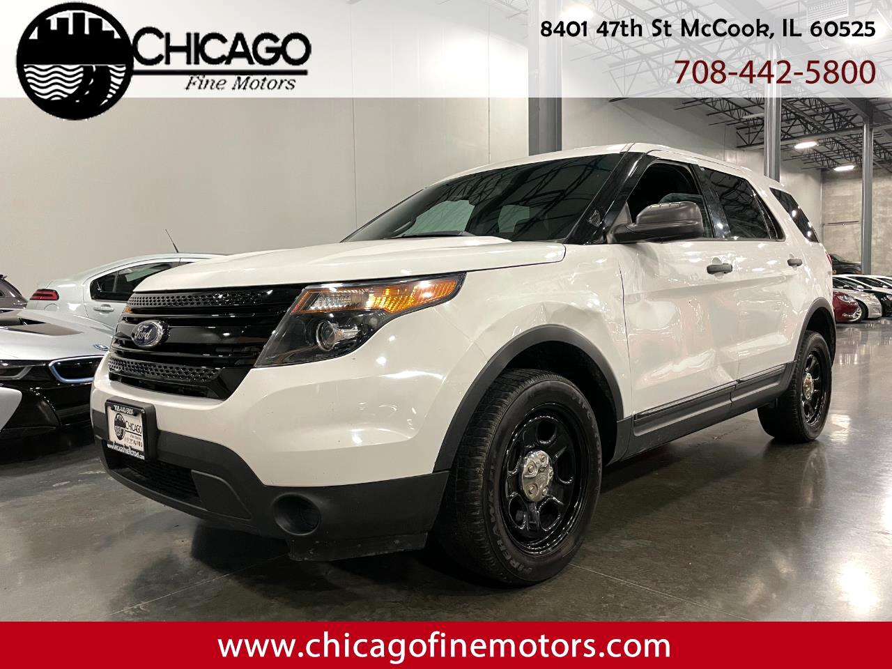 Ford Explorer Police 4WD 2015
