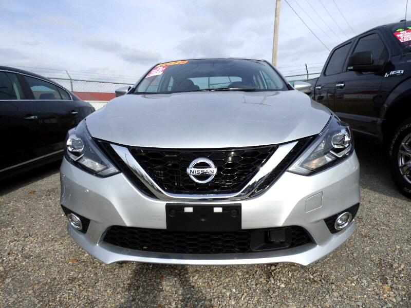 2018 Nissan Sentra SR TURBO 6MT