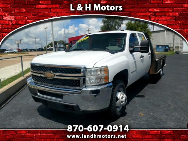 2011 Chevrolet Silverado 3500HD WORK TRUCK CREW CAB 4WD CAB & CHASSIS