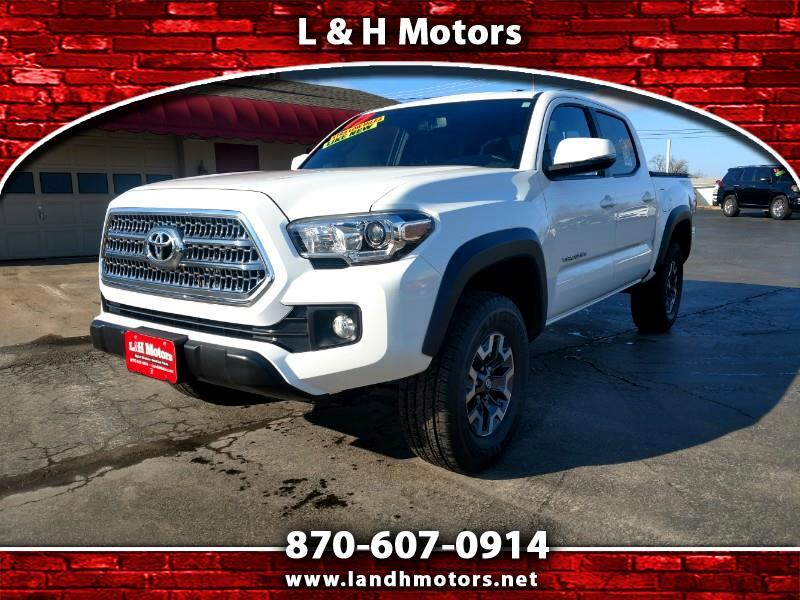 2017 Toyota Tacoma TRD OFF-ROAD DBLE CAB 4WD 6AT V6