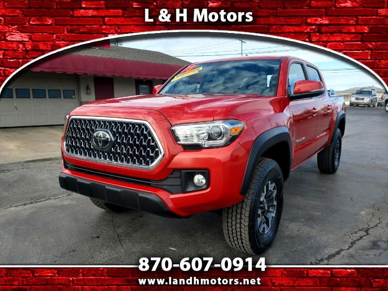 2018 Toyota Tacoma TRD OFF ROAD DOUBLE CAB SHORT BED 6AT 4WD