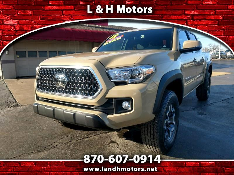 2018 Toyota Tacoma TRD OFF ROAD DOUBLE CAB SHORT BED V6 4WD