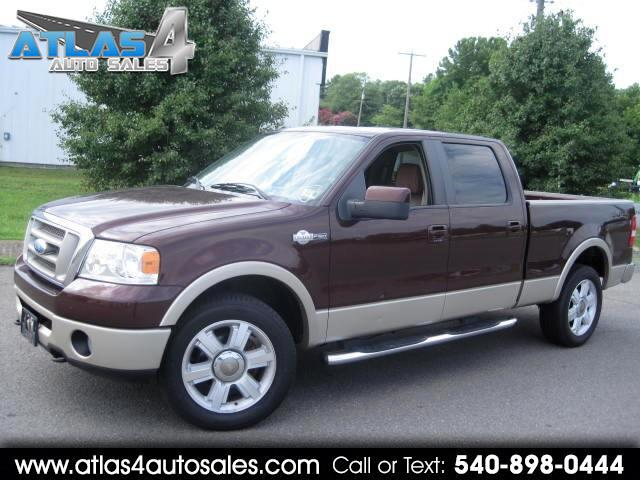 "2008 Ford F-150 4WD SuperCrew 145"" King Ranch"
