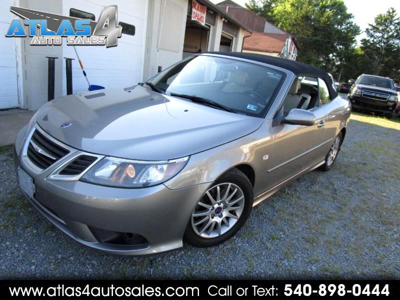 2008 Saab 9-3 2.0T Convertible