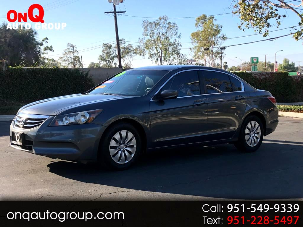 2011 Honda Accord Sdn 4dr I4 Man LX