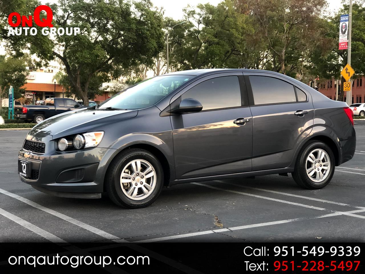 2012 Chevrolet Sonic 4dr Sdn LS 2LS