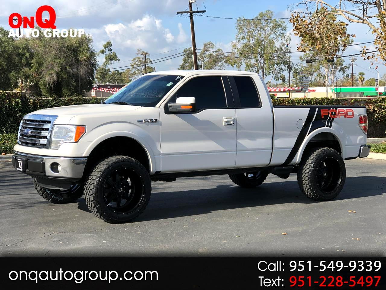 "2013 Ford F-150 2WD SuperCab 145"" Lariat"