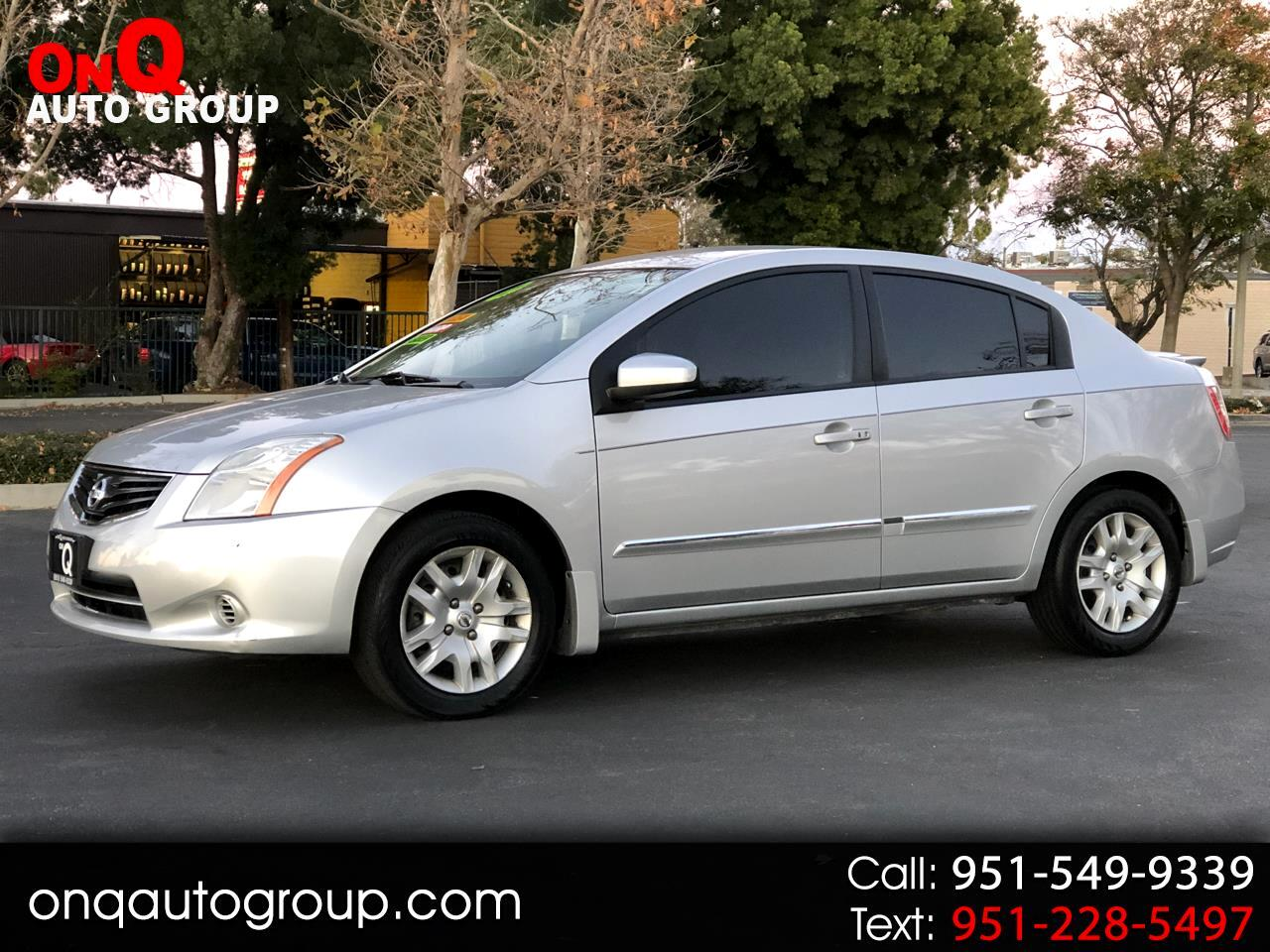 2012 Nissan Sentra 4dr Sdn I4 CVT 2.0 S