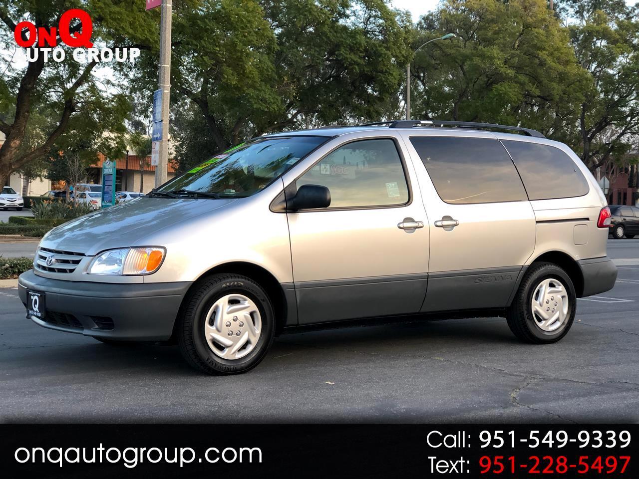 2001 Toyota Sienna 5dr XLE (Natl)