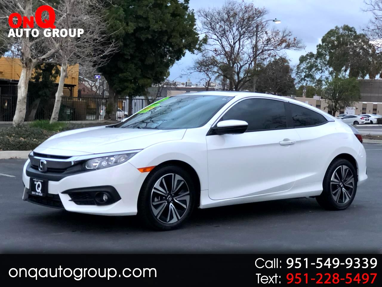 2018 Honda Civic Coupe 2dr CVT EX