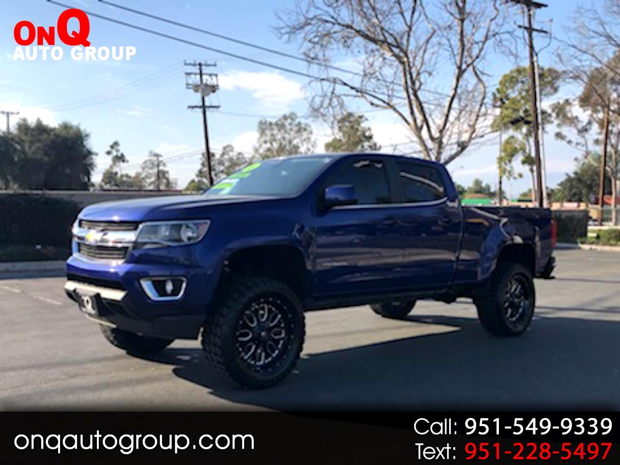 "2016 Chevrolet Colorado 2WD Crew Cab 140.5"" LT"