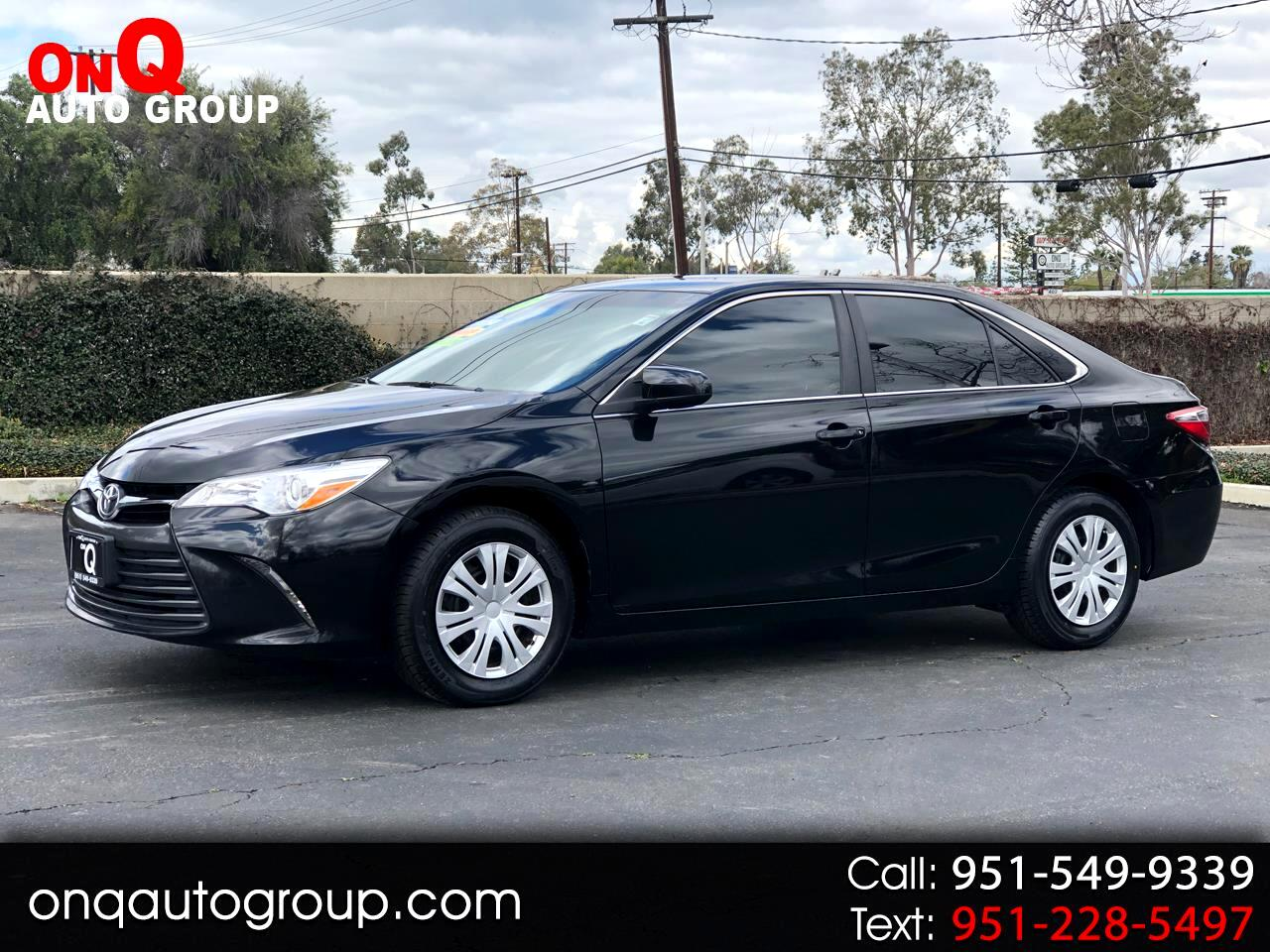 2015 Toyota Camry 4dr Sdn I4 Man LE (Natl)