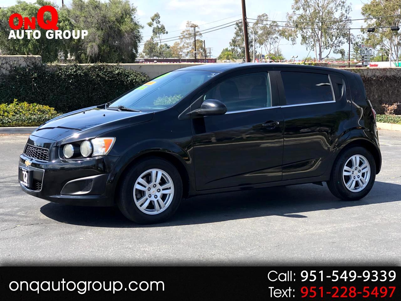 2012 Chevrolet Sonic 5dr HB LT 2LT