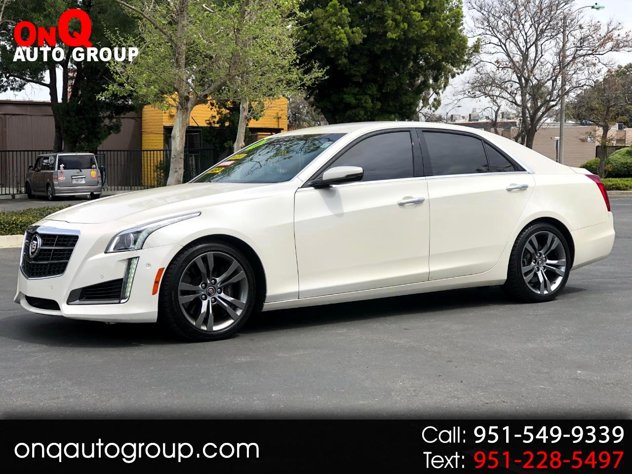 2014 Cadillac CTS Sedan 4dr Sdn 3.6L Twin Turbo Vsport RWD