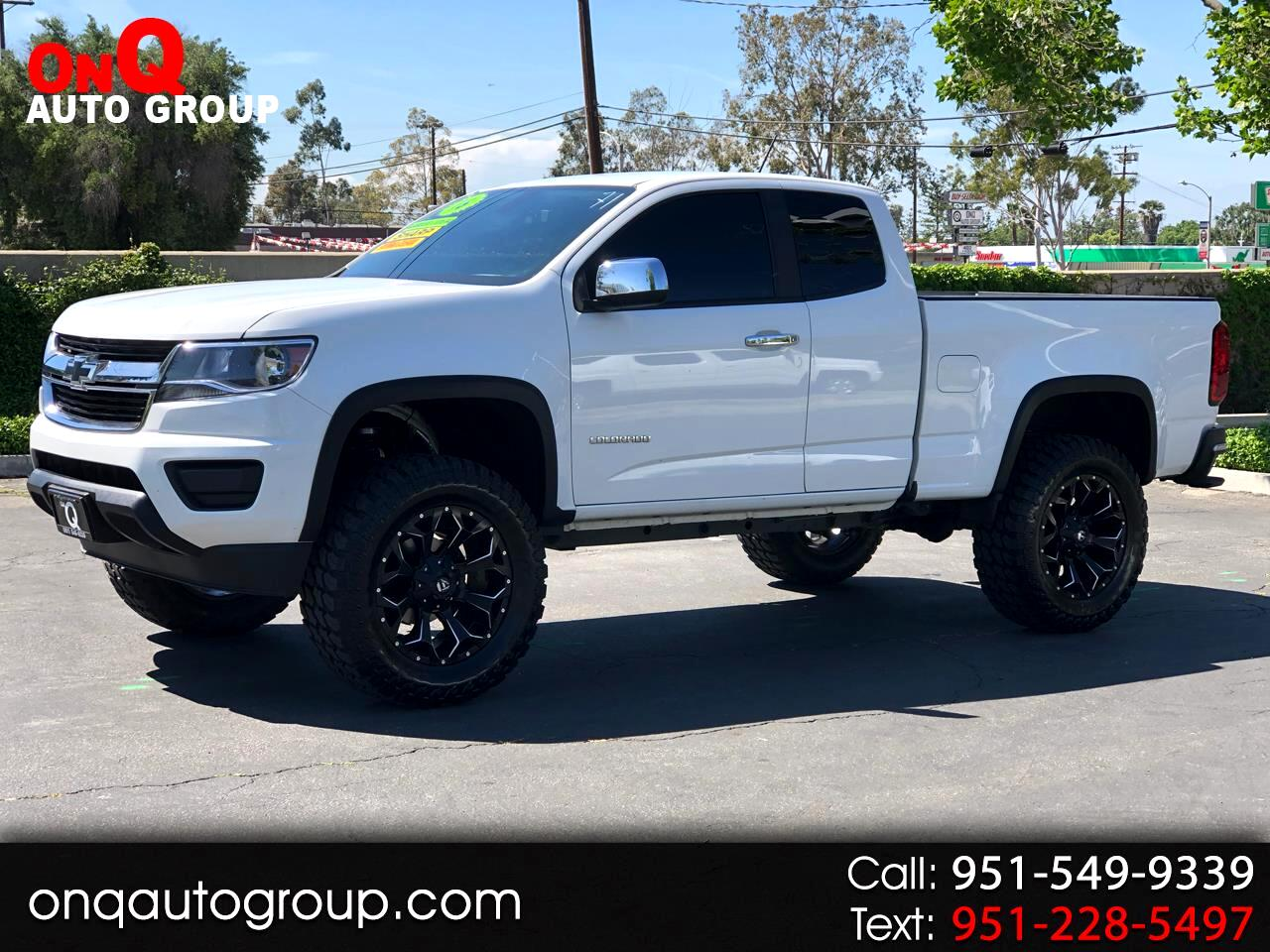 2016 Chevrolet Colorado 2WD Ext Cab LT w/1LT