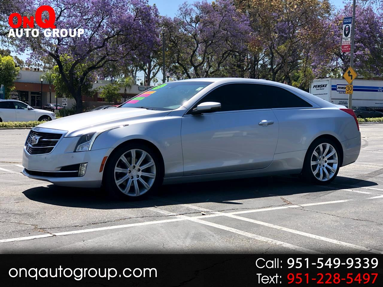 2015 Cadillac ATS Coupe 2dr Cpe 2.0L Luxury RWD