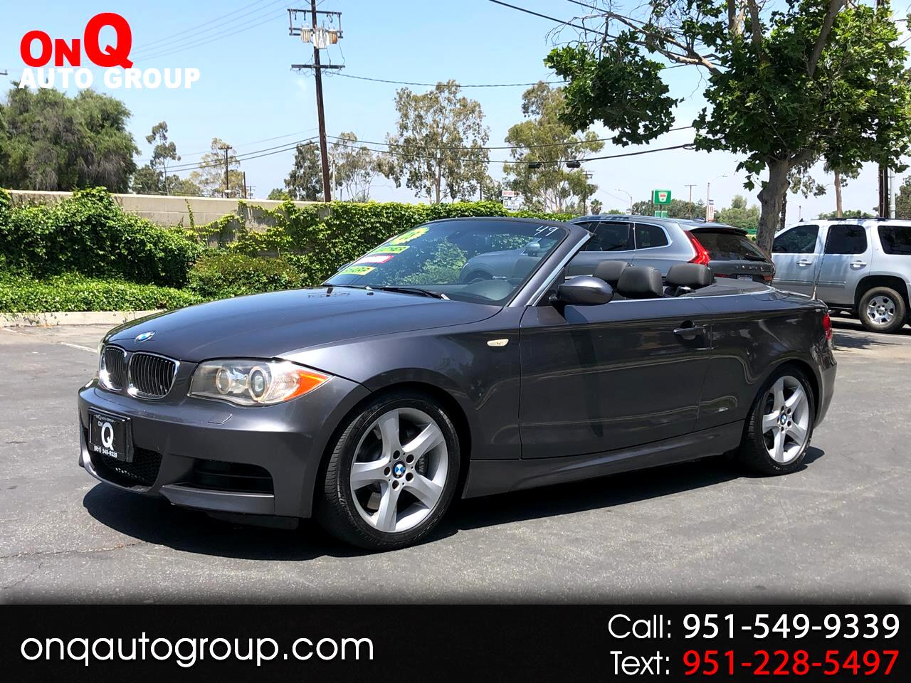 2008 BMW 1 Series 2dr Conv 135i