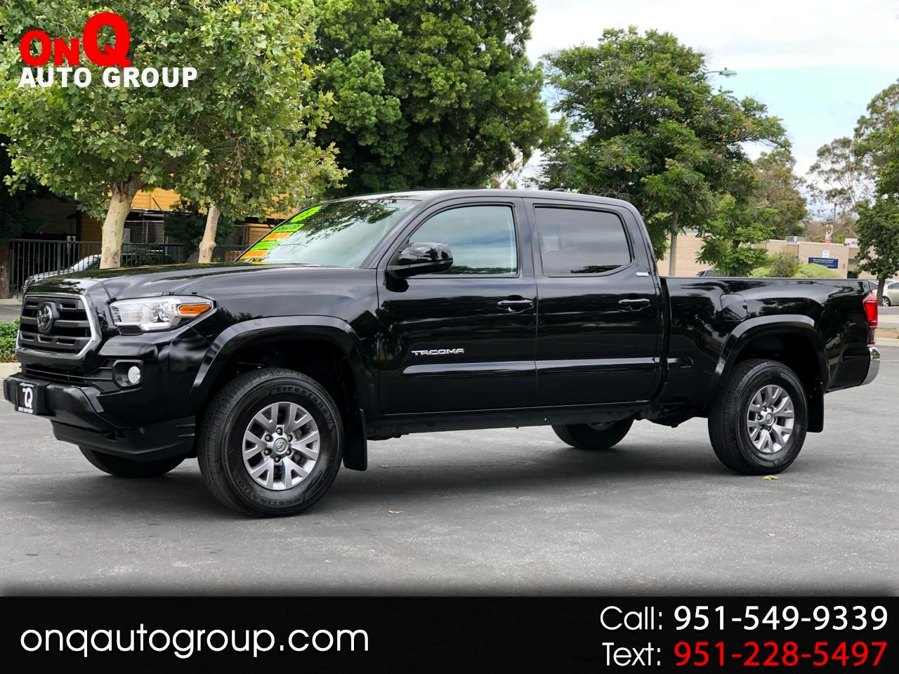 2018 Toyota Tacoma SR5 Double Cab 6' Bed V6 4x2 AT (Natl)