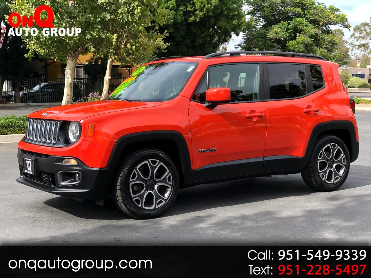 2015 Jeep Renegade FWD 4dr Latitude