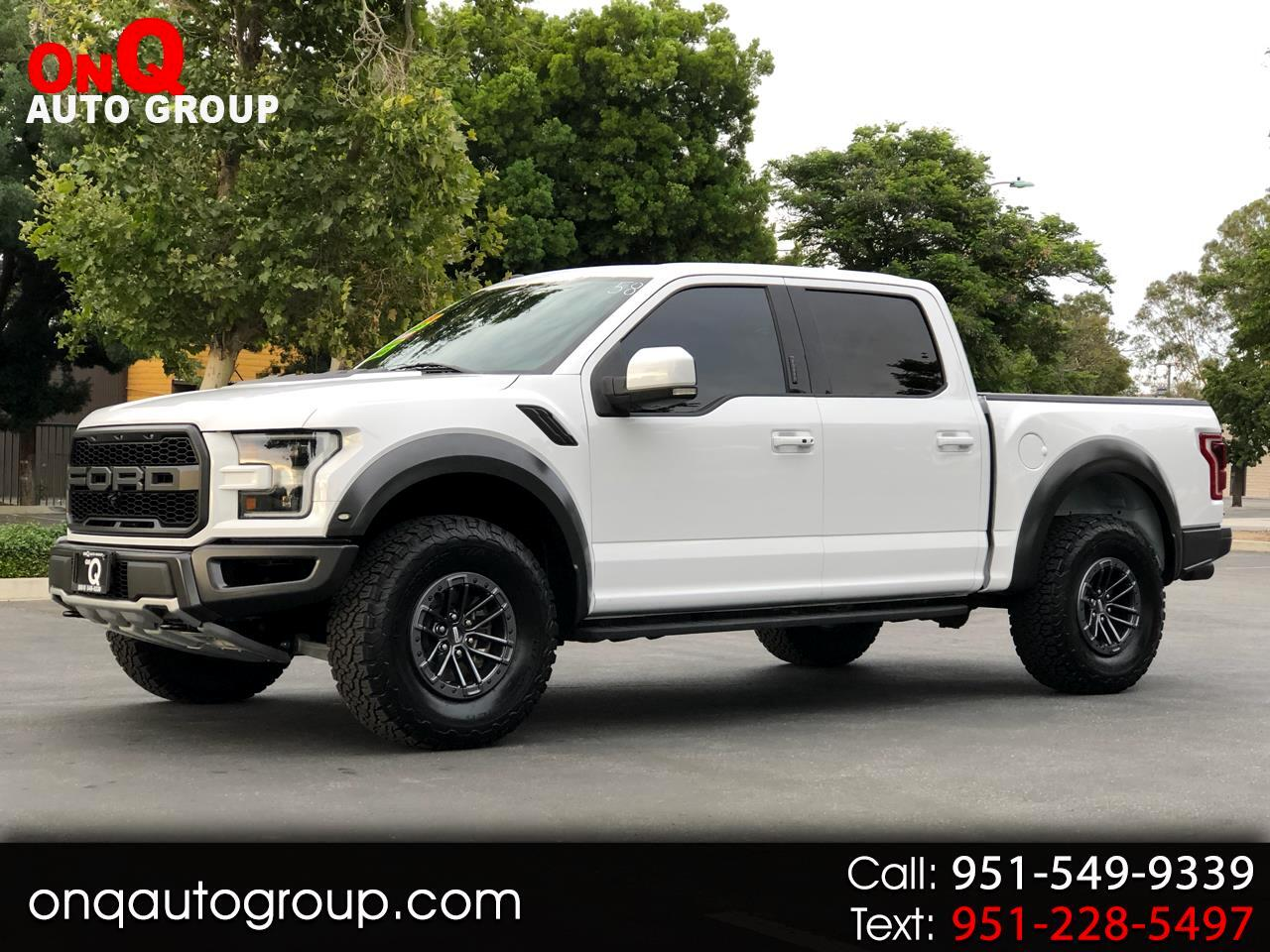 2017 Ford F-150 Raptor 4WD SuperCrew 5.5' Box