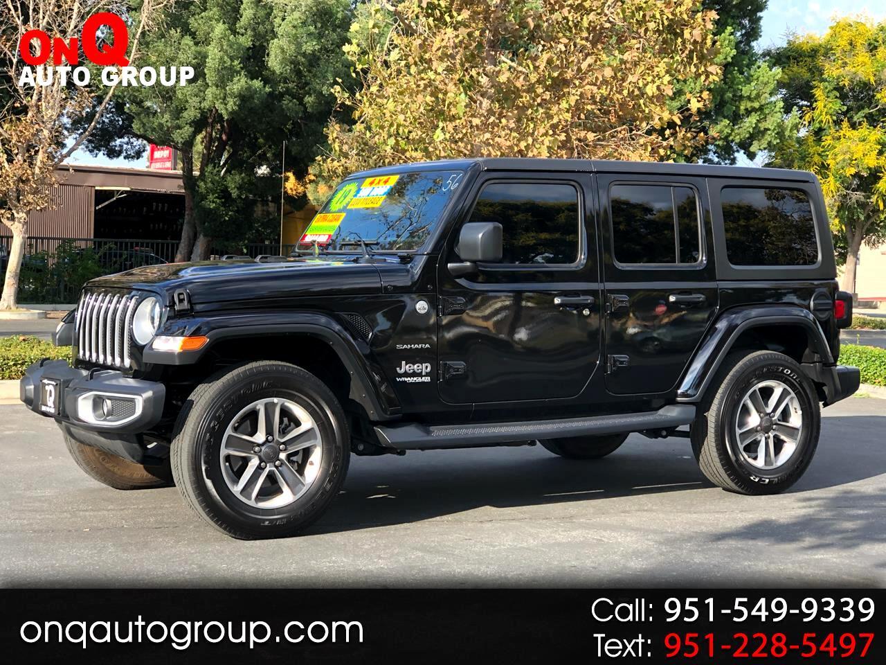 2019 Jeep Wrangler Unlimited Sahara 4x4