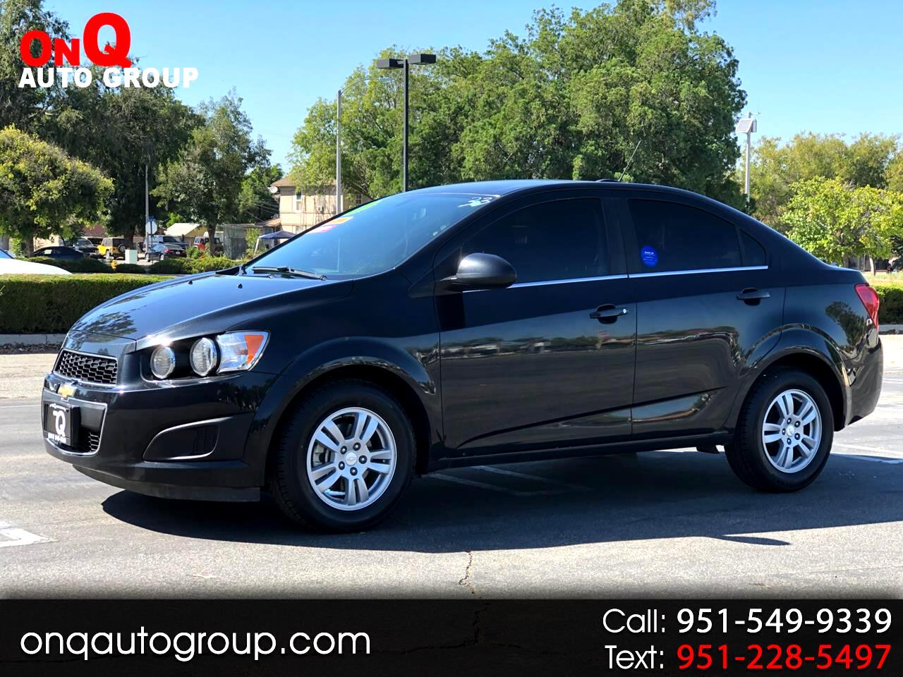 2015 Chevrolet Sonic 4dr Sdn Manual LT